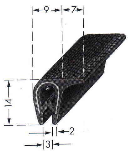 kantenschutz mit stahlger st in verschiedenen klemmbereichen. Black Bedroom Furniture Sets. Home Design Ideas
